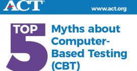 Myths and Facts about ACT® Computer-Based Testing