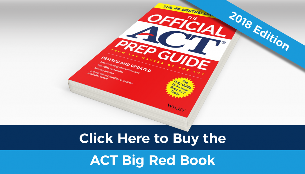 Buy the ACT Big Red Book