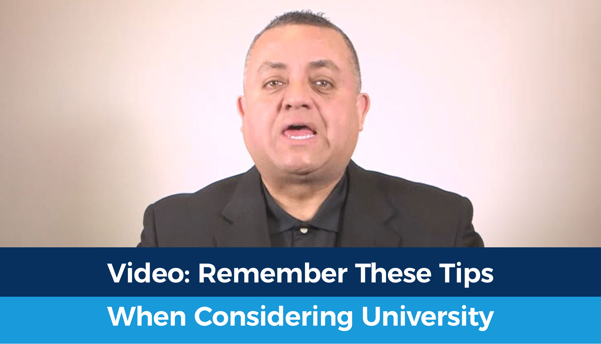 Video: Remember These Tips When Considering University