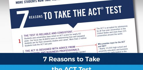 Why more students are taking the ACT test